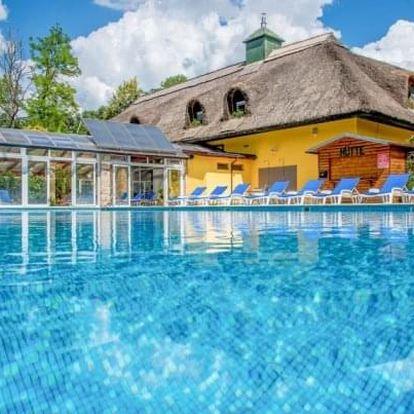 Nyerges Hotelu Thermal ***superior u Budapešti s polopenzí a termálním wellness