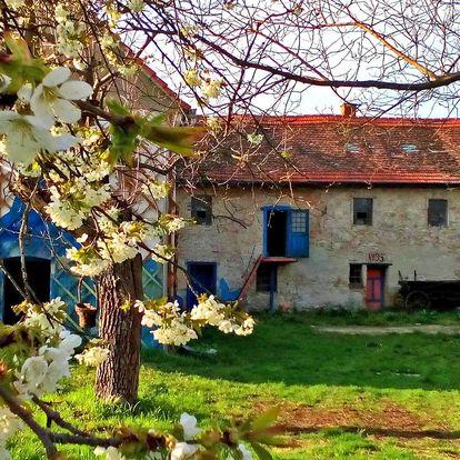 1-2 jarní noci v originálním mlýnském apartmánu