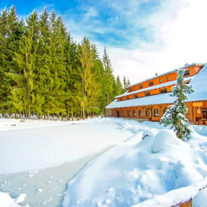 Beskydy jen 400 m od ski areálu s wellness
