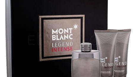 Montblanc Legend Intense dárková kazeta pro muže toaletní voda 100 ml + balzám po holení 100 ml + sprchový gel 100 ml
