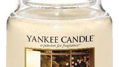 Yankee Candle Svíčka Yankee Candle 411gr - Winter Wonder, žlutá barva, béžová barva, sklo, vosk