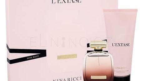 Nina Ricci L´Extase dárková kazeta pro ženy parfémovaná voda 80 ml + tělové mléko 200 ml
