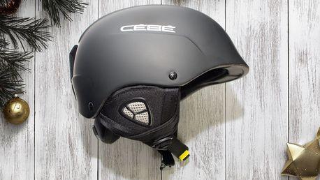 Certifikovaná helma Cébé na lyže i snowboard