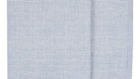 IB LAURSEN Běhoun na stůl Blue/white 50x150cm, modrá barva, textil