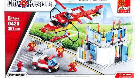City Rescue Stavebnice Hasiči, Hasičská zásahová jednotka - 361 ks