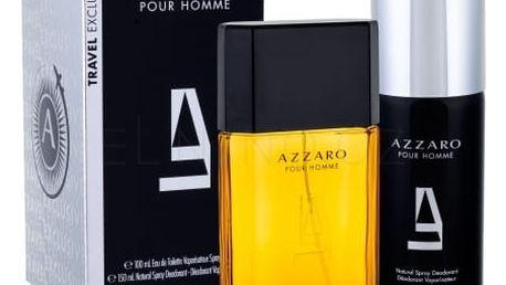 Azzaro Azzaro Pour Homme dárková kazeta pro muže toaletní voda 100 ml + deodorant 150 ml