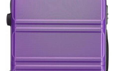 Dámský fialový střední kufr Voyage 1871