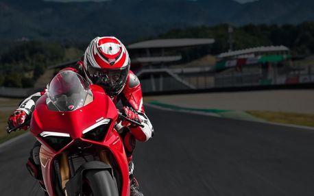 Jízda na motorce Ducati