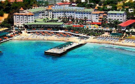 Turecko - Alanya na 8 dní, all inclusive s dopravou letecky z Prahy přímo na pláži