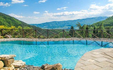 Toskánsko s bazénem a možností wellness