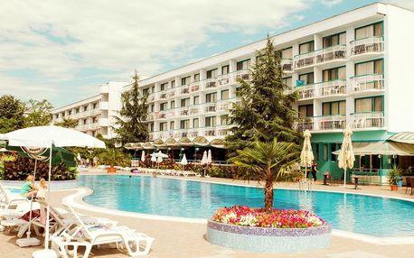 Bulharsko - Slunečné Pobřeží na 8 až 11 dní, all inclusive nebo polopenze s dopravou vlastní 50 m od pláže