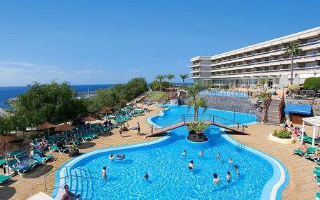 Kanárské ostrovy - Tenerife na 6 až 8 dní, polopenze, snídaně nebo bez stravy s dopravou letecky z Vídně nebo Budapeště 150 m od pláže