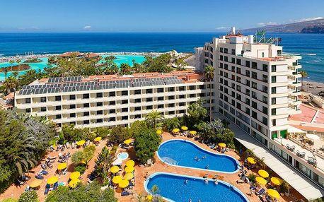 Kanárské ostrovy - Tenerife na 8 dní, polopenze nebo snídaně s dopravou letecky z Vídně 50 m od pláže