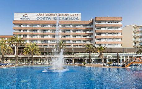 Španělsko - Costa Brava na 8 dní, snídaně s dopravou letecky z Prahy 600 m od pláže