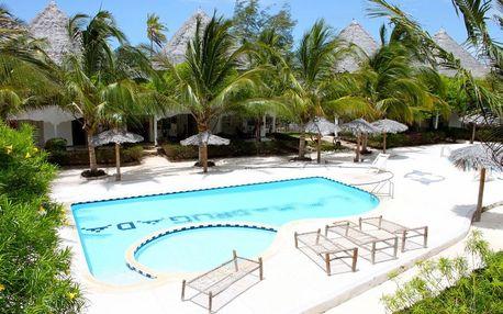 Zanzibar - na 9 dní, polopenze nebo snídaně s dopravou Prahy nebo letecky