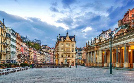 Pobyt v centru Karlových Varů: 1-2 noci se snídaní