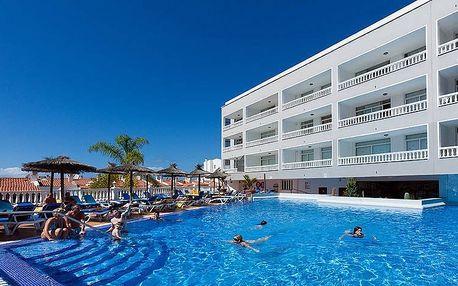 Kanárské ostrovy - Tenerife na 8 dní, all inclusive, polopenze nebo snídaně s dopravou letecky z Vídně nebo krakov 450 m od pláže