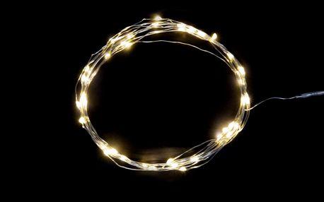 IB LAURSEN Světelný LED drátek pro venkovní použití 2m, bílá barva, plast, dráty