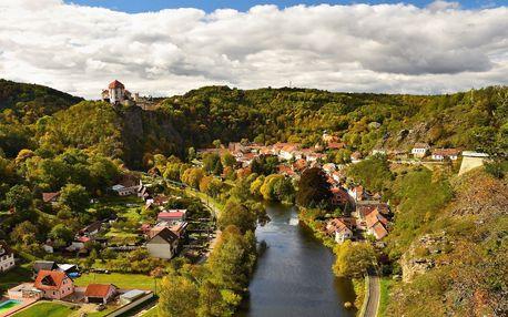 3 dny v Chalupě na Mlatě na jihu Moravy: Sauna, bazén a výlety Podyjím