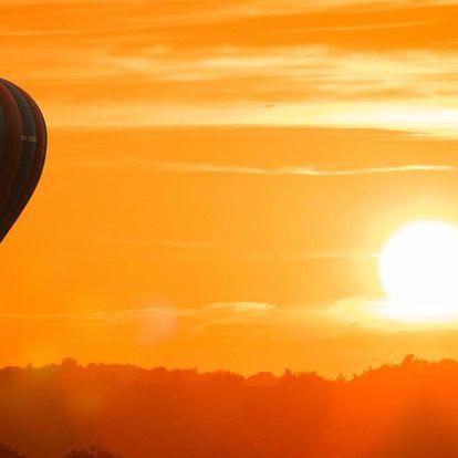 Vyhlídkový let v balónu pro 2 osoby s platností do konce června