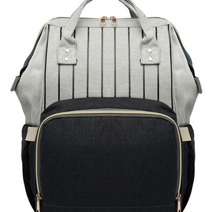 Mateřský černý batoh Jean 6814