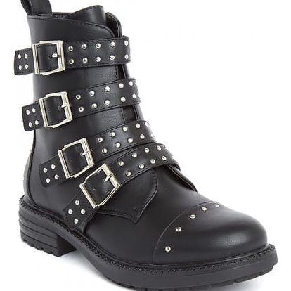 Dámské černé kotníkové boty Rocky 387