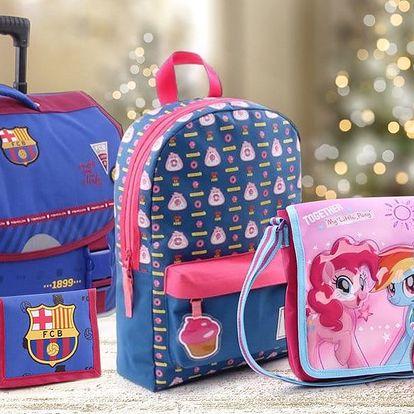 Dětské tašky, batohy, vaky na záda a peněženky