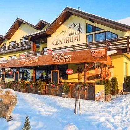 Harrachov hned u ski areálu + wellness