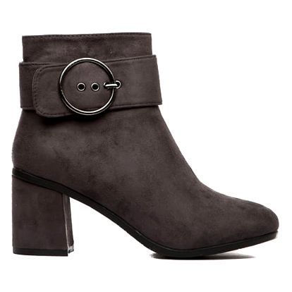 Dámské šedé kotníkové boty Nora 1551