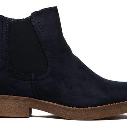 Dámské modré kotníkové boty Juliet 091