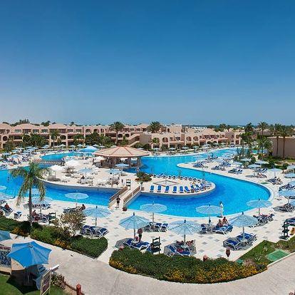 Egypt - Hurghada na 6 až 9 dní, all inclusive s dopravou letecky z Prahy, vratislav nebo katovice přímo na pláži