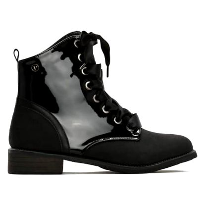 Dámské černé kotníkové boty Esmarra 3114
