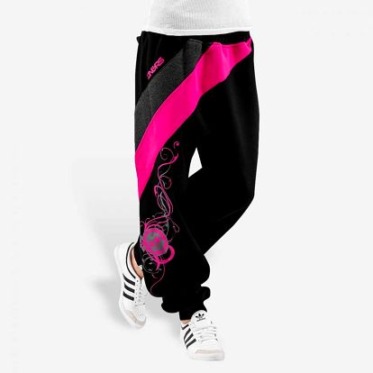 Dangerous DNGRS / Sweat Pant Skull in black L