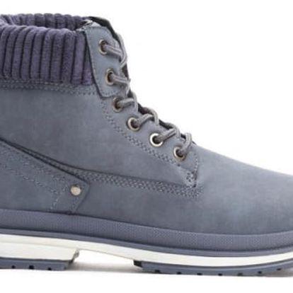 Dámské tmavě modré kotníkové boty Jessie 007