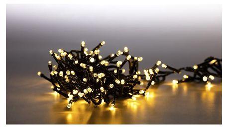 Marimex Světelný řetěz 400 LED dvojitý - teplá bílá - 18000081