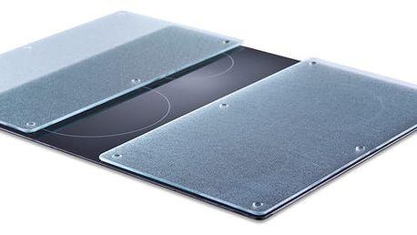 Ochranné skleněné panely GLASS na sporák – 2 ks, ZELLER