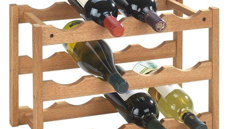 WENKO Dřevěný stojan NORWAY na víno - 12 lahví