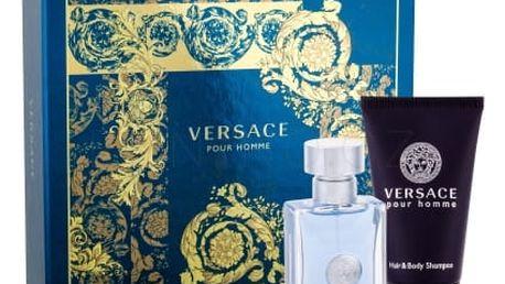 Versace Pour Homme dárková kazeta pro muže toaletní voda 30 ml + sprchový gel 50 ml