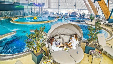 Pobyt v AquaCity Riverside s neomezeným vstupem