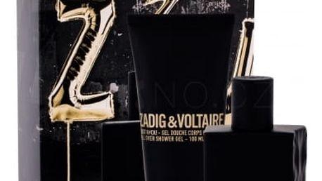 Zadig & Voltaire Just Rock! dárková kazeta pro muže toaletní voda 50 ml + sprchový gel 100 ml