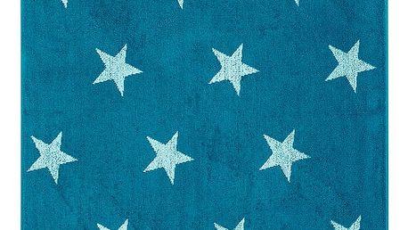 JAHU Osuška Stars modrá, 70 x 140 cm