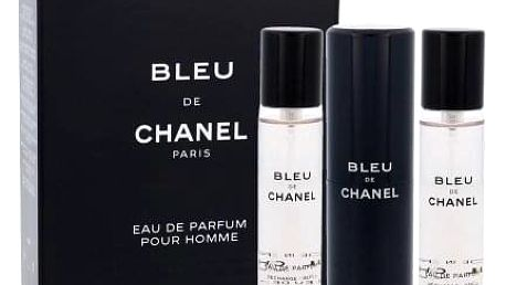 Chanel Bleu de Chanel 3x20 ml parfémovaná voda Twist and Spray pro muže miniatura