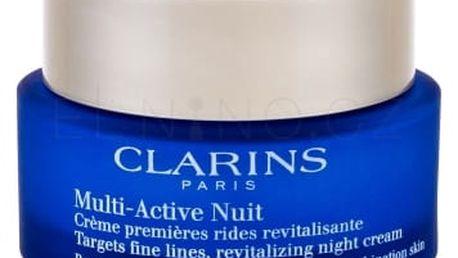 Clarins Multi-Active 50 ml noční krém proti vráskám pro normální až smíšenou pleť pro ženy