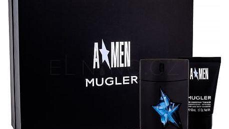 Thierry Mugler A*Men Rubber dárková kazeta pro muže toaletní voda 50 ml + sprchový gel 50 ml