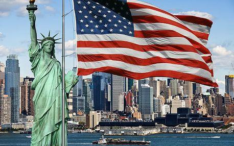 New York, USA, letecky, snídaně v ceně