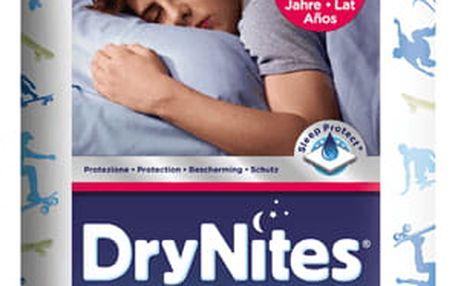 HUGGIES® DryNites pro chlapce 8-15 let, (27-57 kg), 9 ks - kalhotkové pleny