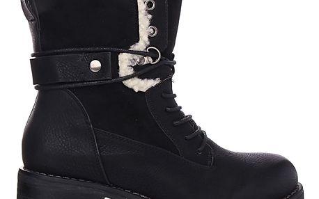 Desun Zimní dámská obuv SW6187B Velikost: 37 (24,5 cm)