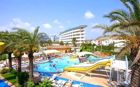 Turecko - Side na 4 až 8 dní, all inclusive nebo ultra all inclusive s dopravou letecky z Prahy 50 m od pláže