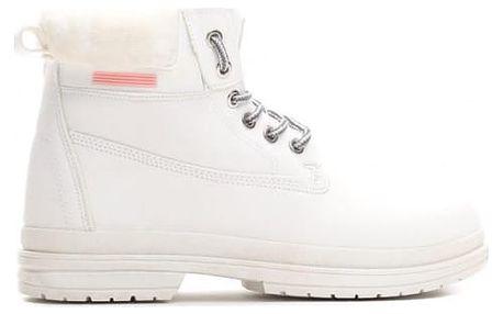 Dámské bílé kotníkové boty Vinnie 009