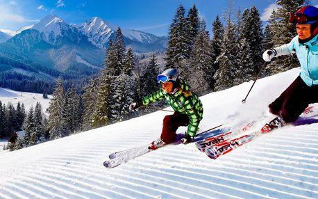 Lyžování pro celou rodinu ve Ski Monkova dolina